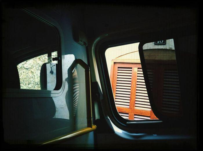 The View From My Window la ventana de la ambulancia