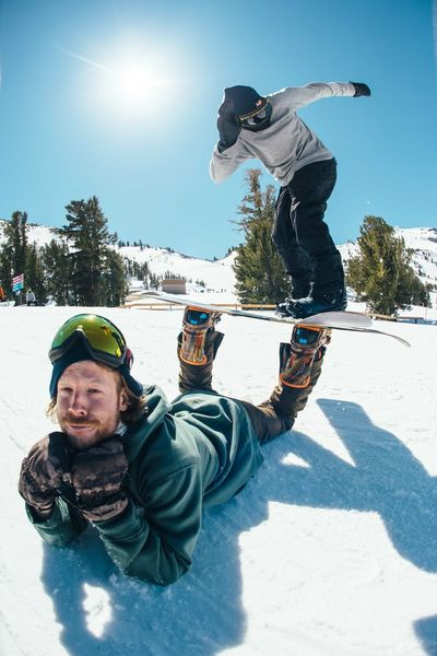 The Action Photographer - 2015 EyeEm Awards Snowboarding is better with Friends !! Mammothmountain California