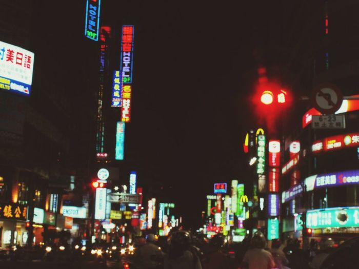 亂美。 Night Night Lights Mess Motorcycles Street EyeEm Best Shots EyeEm Nature Lover EyeEm Gallery I Love My City Taiwan Sanchong 三重埔 The View And The Spirit Of Taiwan 台灣景 台灣情