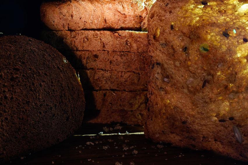 Light Artificial Illumination Bread Close-up Food Indoors  Macro No People Still Life