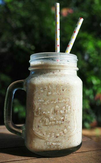 My World Of Food Breakfast Banana Smoothie nothing better than an icy cold smoothie on a hot summers day.