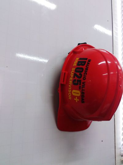 Safety Hard Hat Hse waiting for work