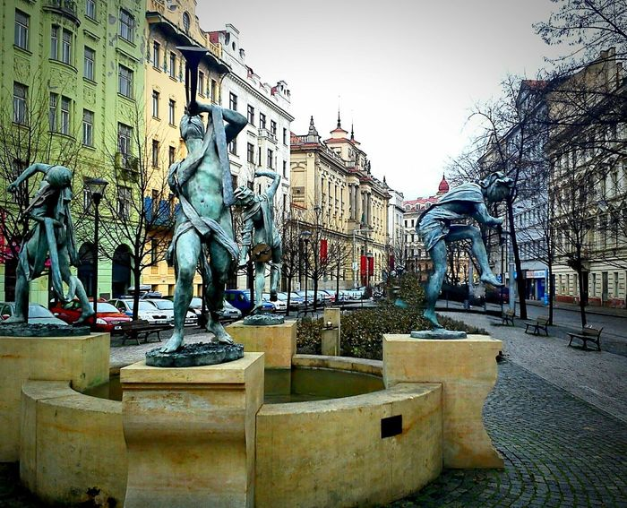 Prague Czech Republic AnnaChromy Sculptures Urban Sculpture Musicians