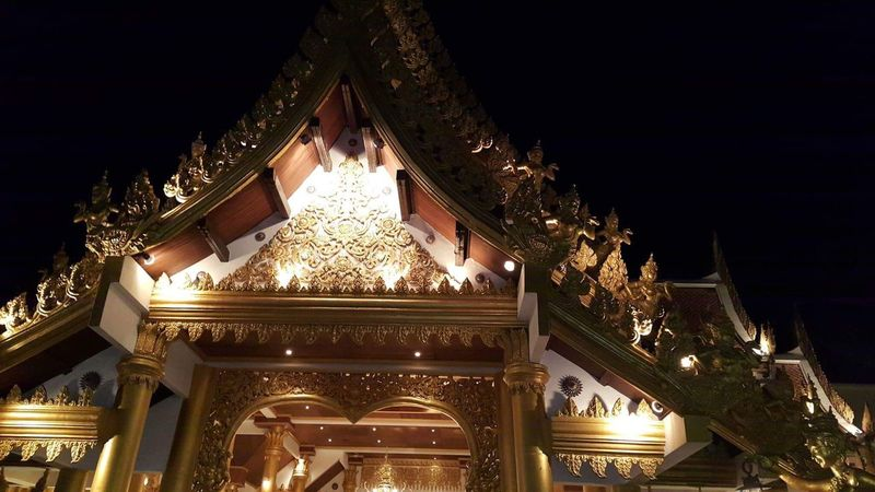 Finding New Frontiers fantasea thailand Gold Colored Architecture Travel Destinations Beauty Outdoors Effect Love