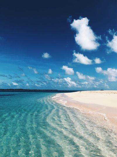 Siargao Island Summer Ocean Beach Daku Philippines Siargao Island Siargao Sea Sky Water Scenics - Nature Cloud - Sky Beauty In Nature Blue