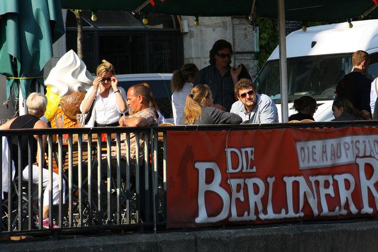 A Taste Of Berlin Berlin Photography Berlin Street Cafés Berliner De Berliner River Spree Berlin Day Large Group Of People Men Outdoors Real People Women Berlin Love #FREIHEITBERLIN #urbanana: The Urban Playground