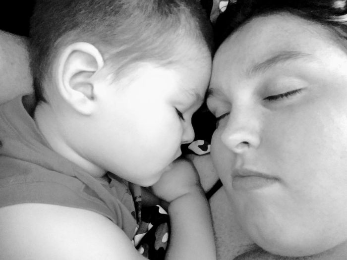 Mommy & Me No Flash Babyboy Sweet Dreams Natural Beauty Peaceful Dreams Boys Peace Night Time Bed Infant Mother Motherhood Mommy Cuddling Godscreation Naturesbeauty Bedtime Sleeping Resting Relaxation Sweet Dreams Motherhood Mom's Kids Sleeping Napping At Home Pillow Mattress