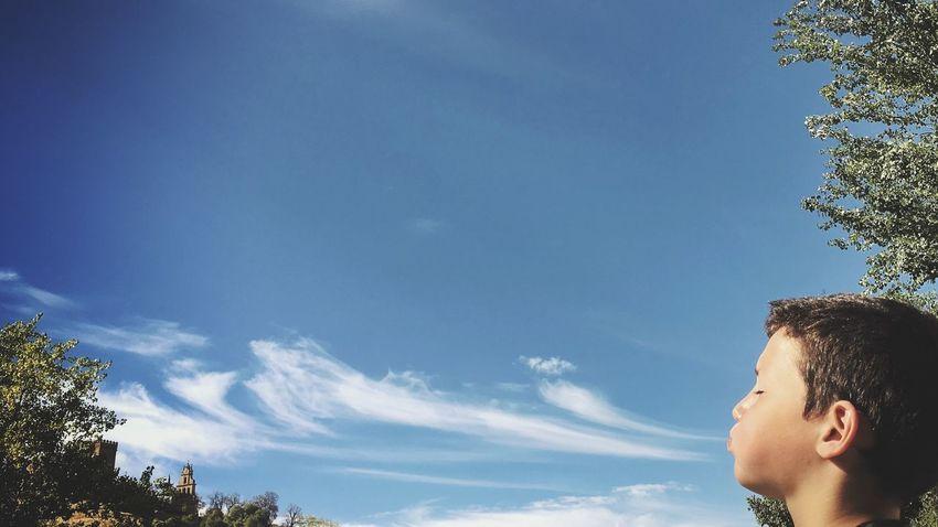 Soplan buenos tiempos... Clouds And Sky Children Sky Aracena SPAIN
