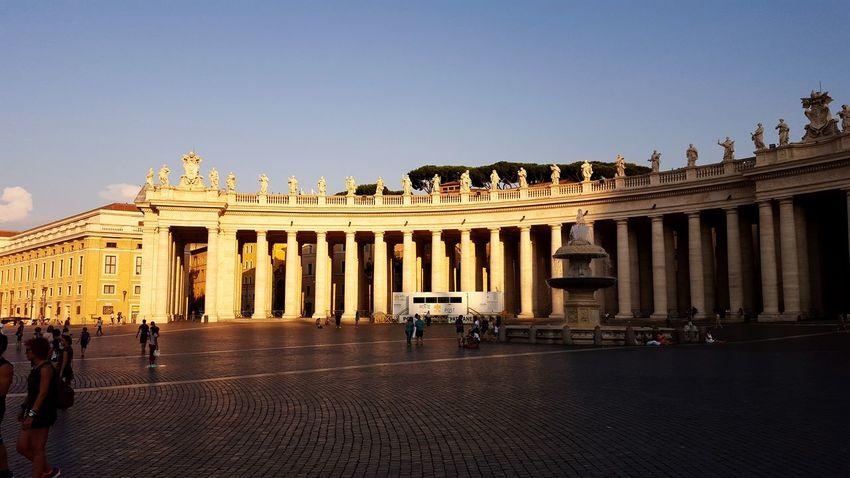 Vatikan Rome Italy Sunset Italy Ancient Architecture City Architecture Arquitectura