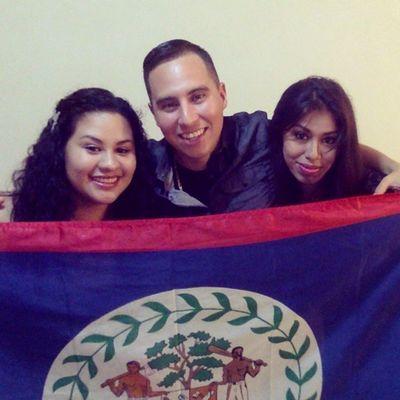 we bringing in the independence :-) ... Belize mi love !!!! @ner_c and chichi Belizepride Startup WeReady Spanishinvation freshersfete