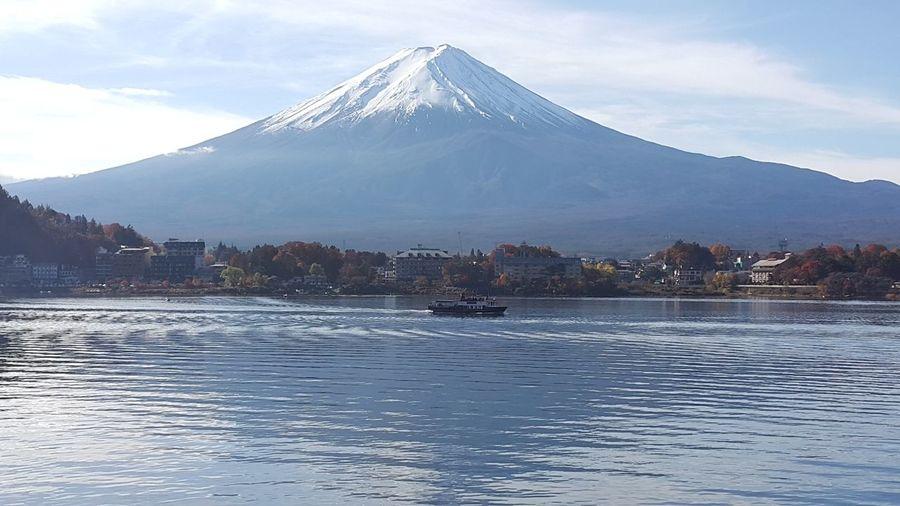 日本富士山。