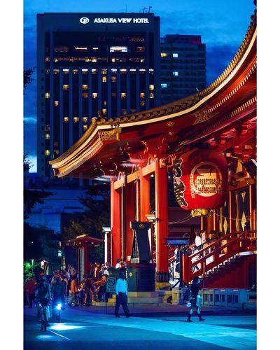 Asakusa at night Asakusa Night Travel