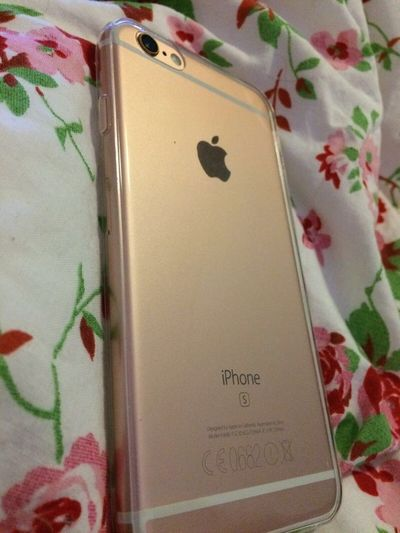 New Babee - Iphone6s Rosegold 😍
