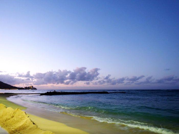 Beach Sea Travel DestinationsScenics Em1markii Horizon Over Water Cloud - Sky Outdoors Olympus Hawaii Photo Olympus Photography Waikiki Beach