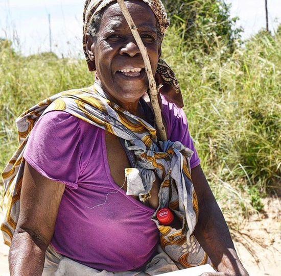 Smile lady joy