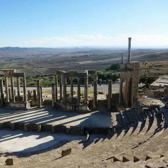 Site_historique Dougga Beja Tunisie art no_filtre photographie instagram instagood instamoment