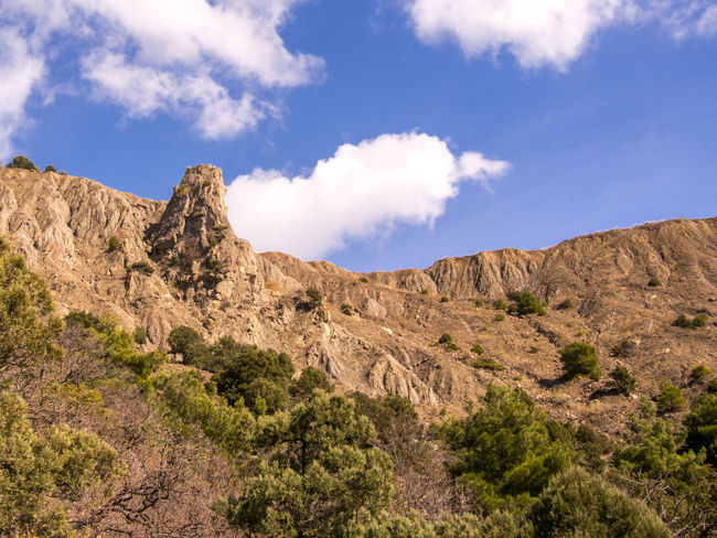 Arid Climate Balaklava Crimea Beauty In Nature Cloud - Sky Crimea,Russia Day Eyeem Photo Gawlet Geology Landscape Mountain Mountains Nature No People Outdoor Photography Outdoors Physical Geography Rock - Object Scenics Sky Vacations Балаклава Крым