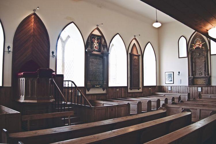 Kinneff church Kinneff Kinneff Church Indoors  Church Aberdeenshire Scotland Aberdeenshire Coast