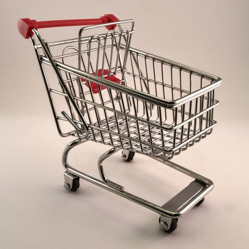 www.starttoshoot.com Buying Empty Grocery Purchases Pushcart Shopping Shopping Cart Store Trolley