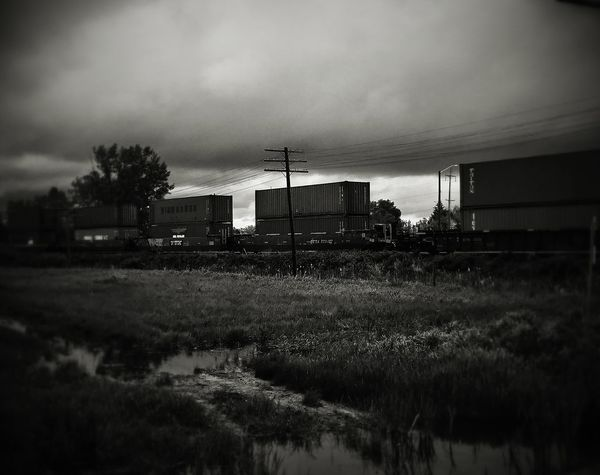 Hanging Out Check This Out Beautiful Taking Photos Eyeemphotography Train Blackandwhite Rual Clouds And Sky Clouds