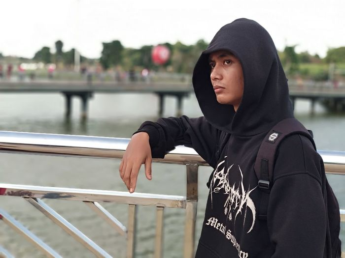 at meikarta Indonesia People Park INDONESIA Cool Blora Central Java Xiaomi Xiaomiphotography Go Higher Water Portrait Young Women Women River Sitting Leaning Hood - Clothing Sky Hooded Shirt Sweatshirt Wearing Hood Origins