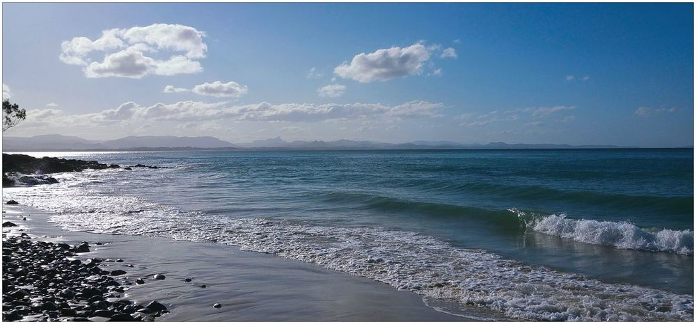Beach Blue Sky Clouds And Sky Sea Sea & Sky Seascape Sunny Sunshine