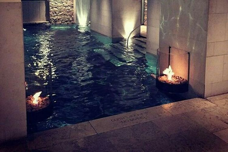 Spa Day Streamzoofamily Architecture Inside Swimming Pool Vacation Family Trip