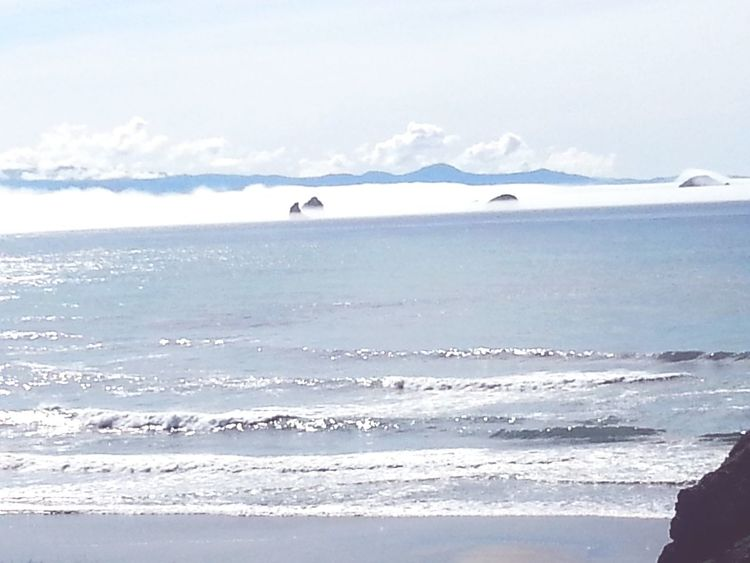 Relaxing Taking Photos Enjoying Life Check This Out Fog Waves Oregon Coast Clouds And Sky Ocean View Beautiful