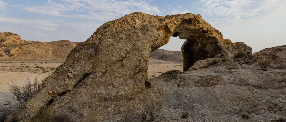 View on the Rock Arch, a Natural Rock Formation in the Naukluft National Park of Namibia Namibia Southern Africa Naukluft National Park Rock Arch Rock Formation Rock Rock - Object Physical Geography Scenics - Nature Tranquility Tranquil Scene Nature Travel Destinations Travel Geology Architecture Land Arch Natural Arch Arid Climate Climate Outdoors