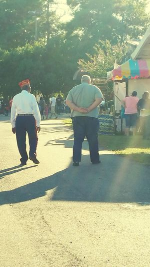 Vietnam Veterans 4 States Fair Enjoing The View Land Of The Free Home Of The Brave
