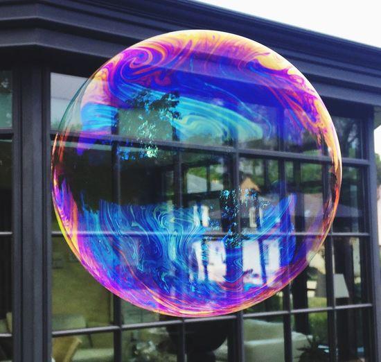 Bolla Burbuja Burbujas De Jabon Bolla Di Sapone Bulle De Savon Riesenseifenblasen Seifenblase Bubble Big Soap Bubble Soapbubble Reflection Transparent Bubble Multi Colored Sphere Vulnerability  Fragility Soap Sud