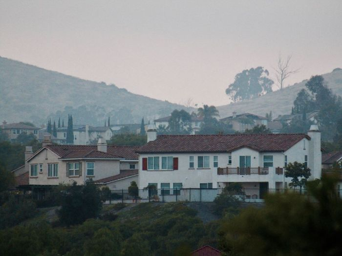 Mountain House Hazy  No People Chula Vista, CA California USA