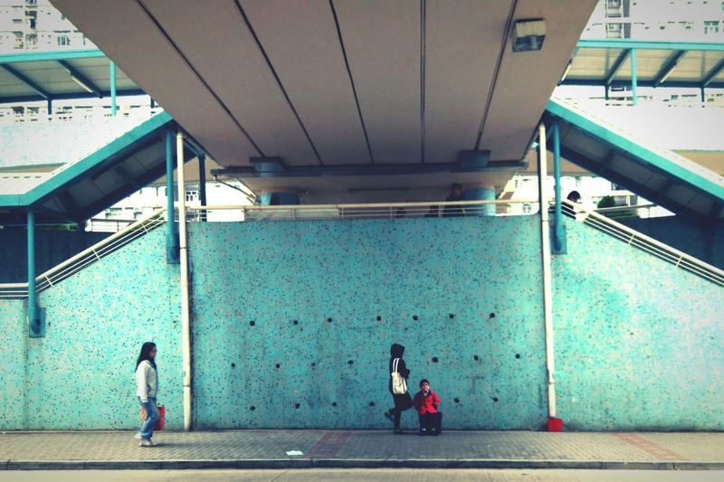 - someone in the street - Taking Photos HongKong Hkers Blue Suchagoodday TakeCare  Nature Harmony