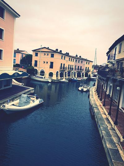 Canal Building Exterior Built Structure Architecture City Water Travel Destinations Outdoors Gondola - Traditional Boat Sky Day First Eyeem Photo