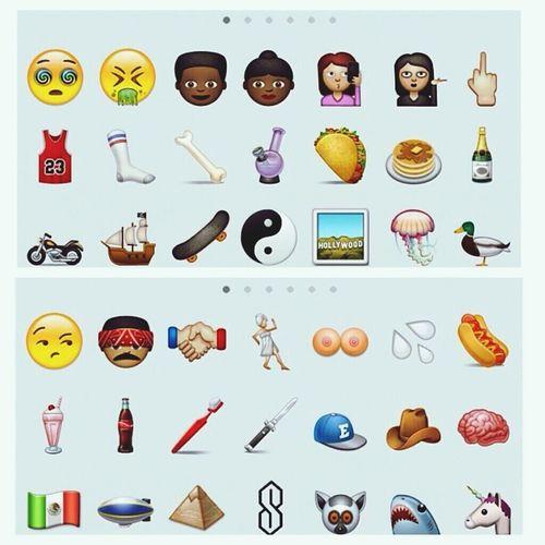 Must Have Emoji's