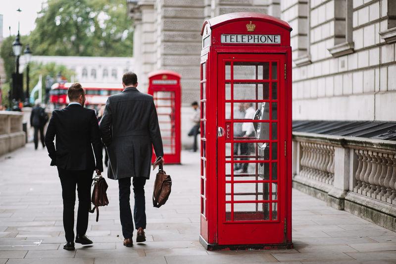 Cityscape London City City Life Communication Lifestyles Red Telephone