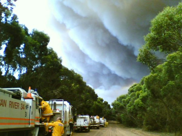 Into the Fray Bushfire Fire Appliances Fire Engines Firefighter Smoke Capture The Moment