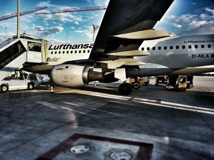 Airplane Sky Traveling