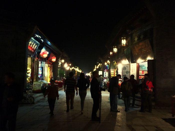 Night Night Lights Street China People The Traveler - 2015 EyeEm Awards