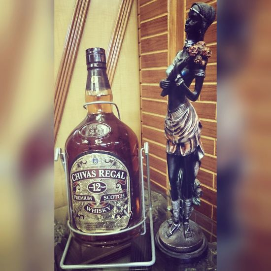 Chivas Regal 12 Years Blacklady Marvellous