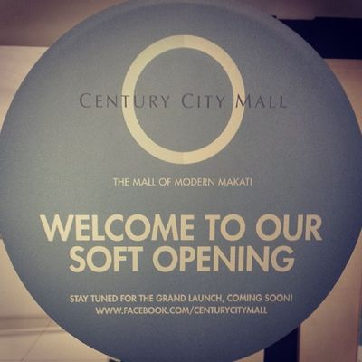 Ready for CCM's soft opening on Monday.. February 17. Centurycitymall