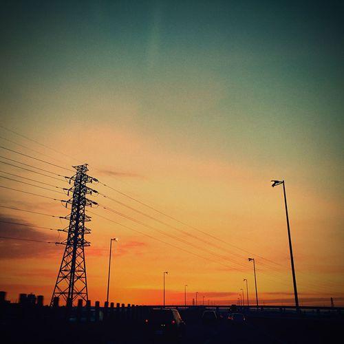總是一廂情願 Sunset Sky Enjoying Life Thinking About You