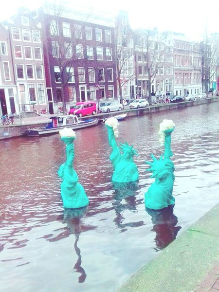 Amsterdam Loveamsterdam Travel Lovetravelling Hello World Libertystatue  Holanda Holand Relaxing Paisesbajos