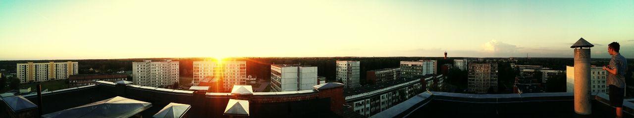 Latvia Olaine Panorama