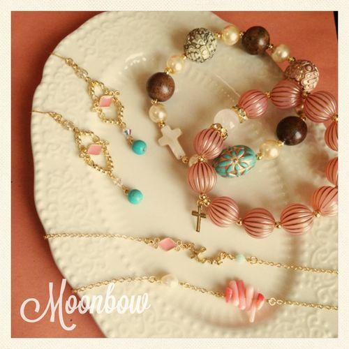Handmade Accessories ハンドメイド Moonbow By Yuki
