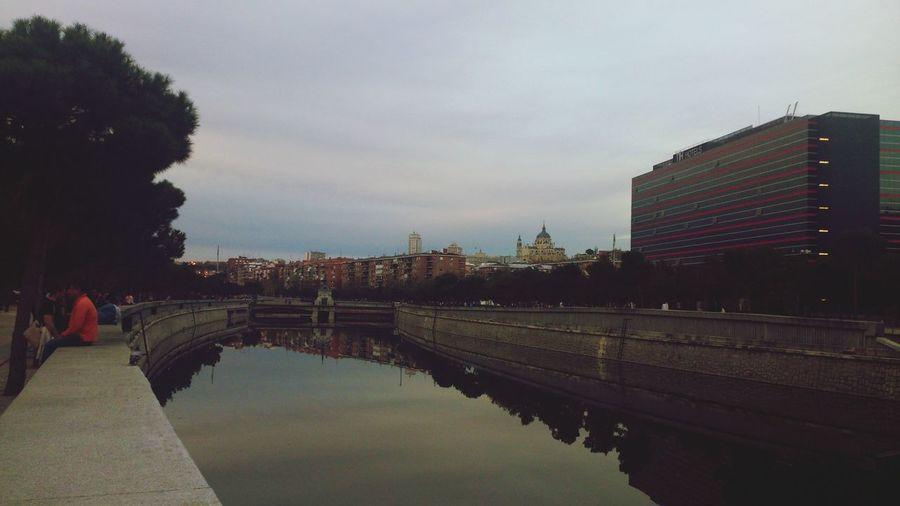 Rio Manzanares Madrid Atardecer Wonderful ♡