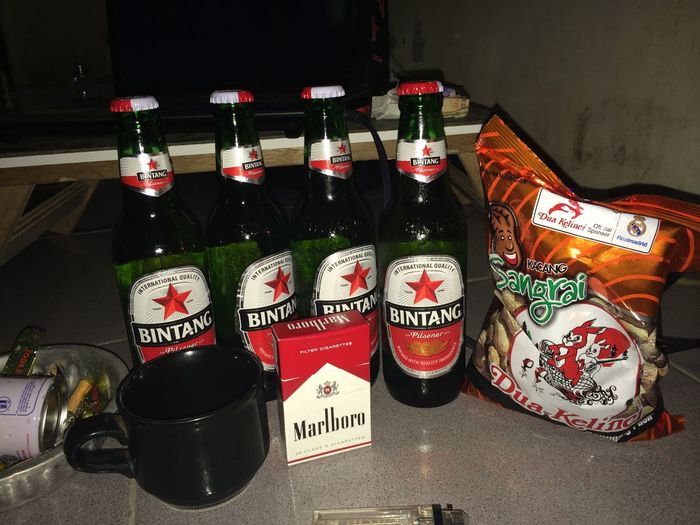 Beer bintang time On A Holiday Hello World