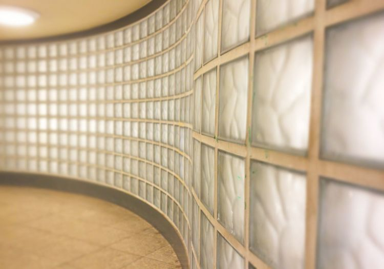 Indoors  Glass Stones Wave Wall Backgrounds Eyeemphotography From My Point Of View Color Photography Taking Photos Art Is Everywhere Architecture