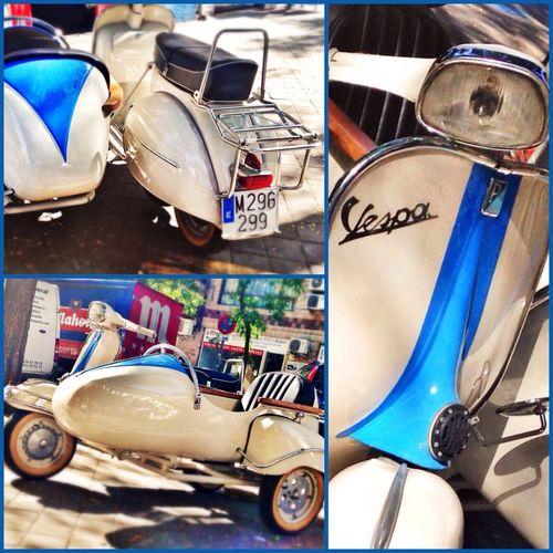 1965 Vespa 125 with Sidecar Joyas Aparcadas Vintage Motorcycles Vintagemotorcycle