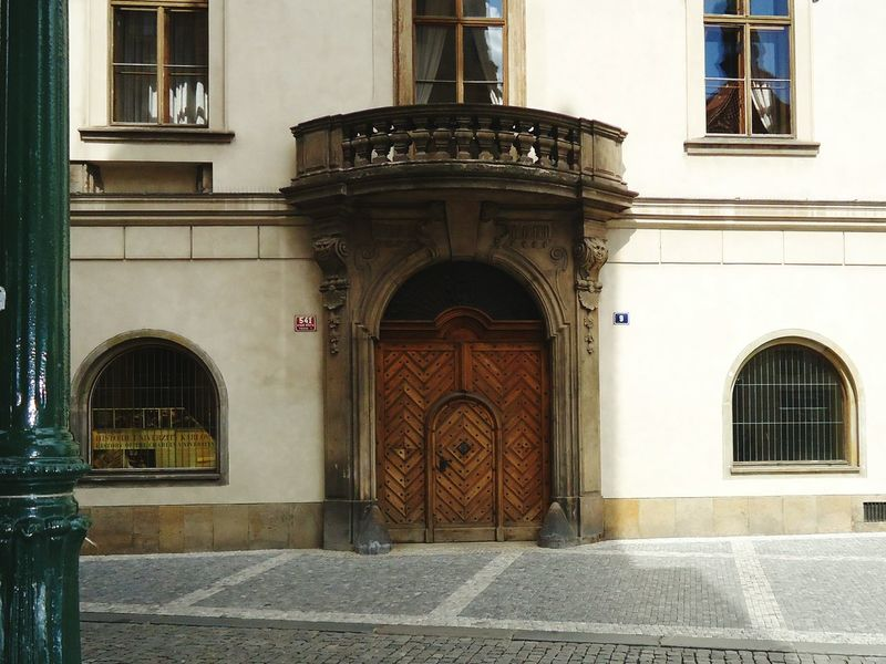 Architecture Built Structure Building Exterior Arch No People Travel Destinations Religion Outdoors Day City Prague Doors